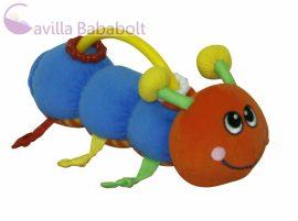 Lorelli toys csörgő hernyócska - Snail orange