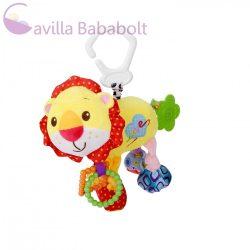 Lorelli Toys vibráló plüss játék - oroszlán 29 cm