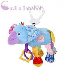 Lorelli Toys vibráló plüss játék - elefánt 28 cm