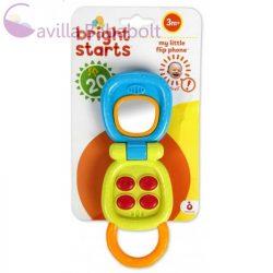 Bright Starts aktív játék telefon My Little Flip 3 hó+