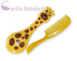 Baby Care Fésű szett zsiráfos
