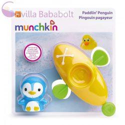 Munchkin Paddlin' Penguin kajakozó pingvin fürdőjáték