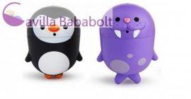 Munchkin CleanSqueeze™ spriccelős fürdőjáték - pingvin & rozmár