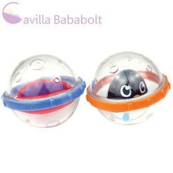 Munchkin fürdőjáték - Float & Play Bubbles / Játékbuborékok (2db) (pingvin)