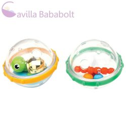Munchkin fürdőjáték - Float & Play Bubbles / Játékbuborékok (2db) (teknős)