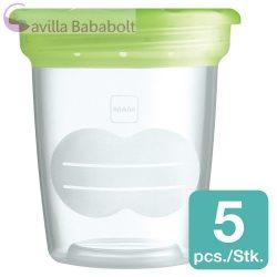 MAM tároló poharak anyatejhez, bébiételhez  - 5 db