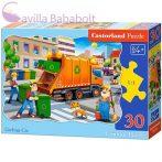 Castorland 30 db-os puzzle - A kukásautó