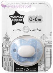 Tommee Tippee Little London játszócumi 0-6 hó 1 db fiú