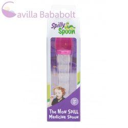 Spilly Spoon gyógyszeradagoló kanál pink