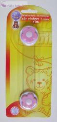 Baby Bruin többfunkciós biztonsági zár - Pink