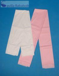 Antibakteriális PVC lepedő 60*120cm, 1 db- fehér