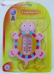 Baby Bruin vízhőmérő teknős, pink