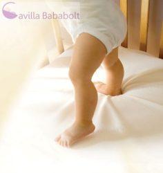 Clevamama matracvédő gumis lepedő egyszemélyes ágyra 90x190 cm