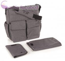Jané pelenkázó táska kiegészítőkkel - T34 Jet Black