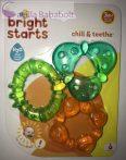 Bright Starts Vízzel töltött rágóka 3 féle, 3hó+