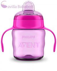 Avent SCF551/03  Itatópohár Classic 200 ml itatófüllel lányos