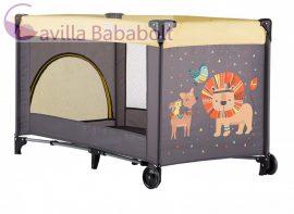 Petite&Mars Utazóágy Koot Lion Yellow