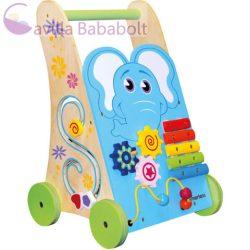 Bino Toys elefántos fa járássegítő