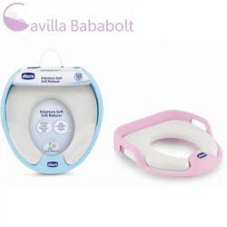 Chicco Puha párnás WC-szűkítő ülőke - pink