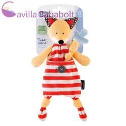 Chicco Pocket Friend 2 in 1 szundikendő és cumitartó, plüss, Róka