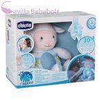 Chicco First Dreams zene-fény altató bárányka, kék