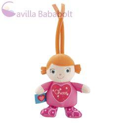 Chicco - Charlotte baba zenélő plüss