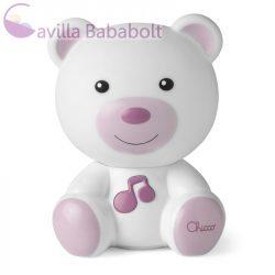 Chicco Dreamlight macis lámpa, rózsaszín