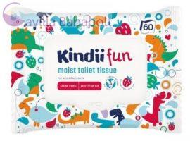 Kindii nedves toalettpapír gyermekek részére 60 db
