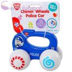 Playgo csörgős rendőr bébiautó