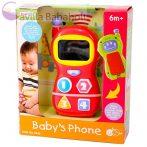 Playgo Kétoldalú bébi mobiltelefon