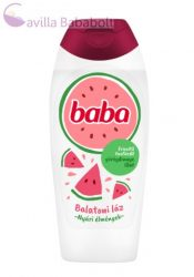 Baba Balatoni láz tusfürdő frissítő görögdinnye illattal 400 ml