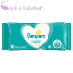 Pampers baby törlőkendő 52 db Sensitive