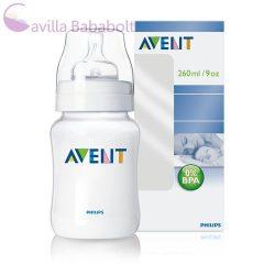 Philips AVENT Classic 260 ml cumisüveg BPA mentes (PP)