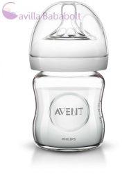 Philips Avent Natural üvegből készült Cumisüveg 120 ml 0% BPA