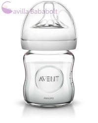 Philips Avent Natural üvegből készült Cumisüveg 120 ml 0% BPA (876434)