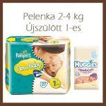 Pelenka 2-5kg, Újszülött
