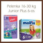 Pelenka 16-30kg, Junior Plus