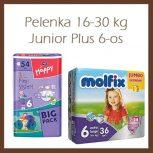 Pelenka 16-30kg, Junior Plus