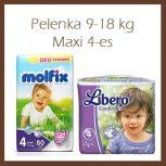 Pelenka 9-18kg, Maxi