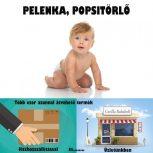 Pelenka, popsitörlő