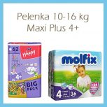Pelenka 10-16kg, Maxi Plus