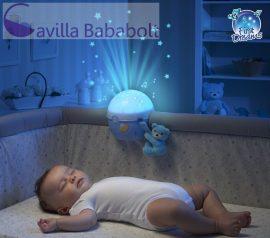 Chicco Next 2 Stars Projector, zenélő, kék