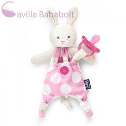 Chicco Pocket Friend cumitartó rongyi, pink