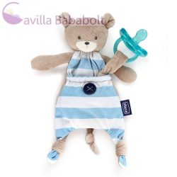 Chicco Pocket Friend cumitartó rongyi, kék