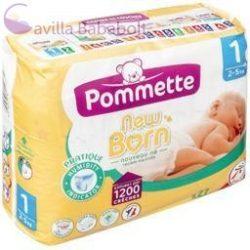 Pommette, New Born (Labell) pelenka (1-es)(2 - 5 kg) (27 db/cs)