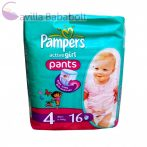 Pampers, Pants Active Girl bugyipelenka (4-es)