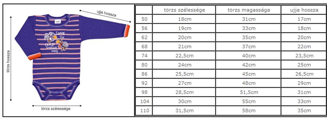 3f312c1792 Figyelem! A megadott adatoknál nem számottevő eltérés lehetséges! A méret  kiválasztásakor vegyék figyelembe, hogy a 100% pamut termékek mosás során  kis ...
